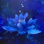 青い宇宙に咲く清らかな愛